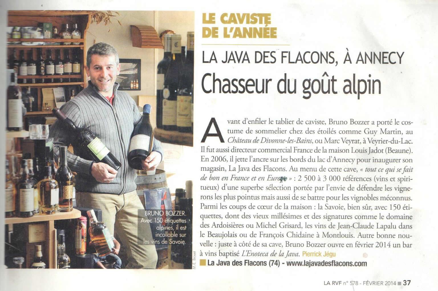 La revue du vin de France bis- Février 2014 - n°578
