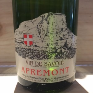 Apremont  cuvée Lisa Jean Masson 2007