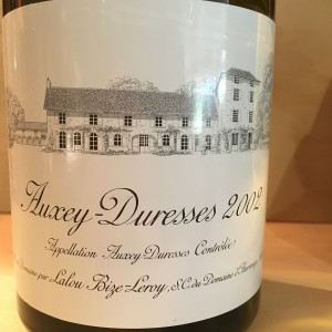 Auxey Duresses 2002 Domaine d'Auvenay