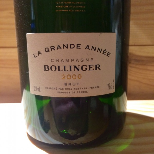 BOLLINGER GRANDE ANNEE 2000