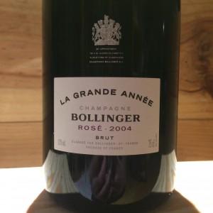 BOLLINGER GRANDE ANNEE ROSE 2004