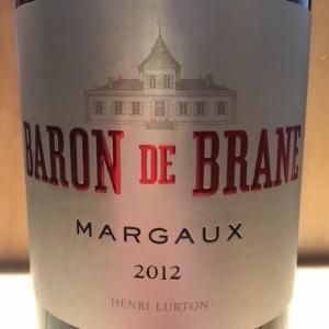 Baron de Brane Margaux 2010 Magnum