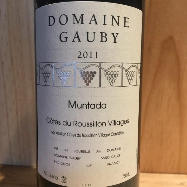 Côtes du Roussillon  La Muntada Gauby  2011