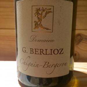 Vin Blanc Savoie Chignin Bergeron Gilles Berlioz 2007