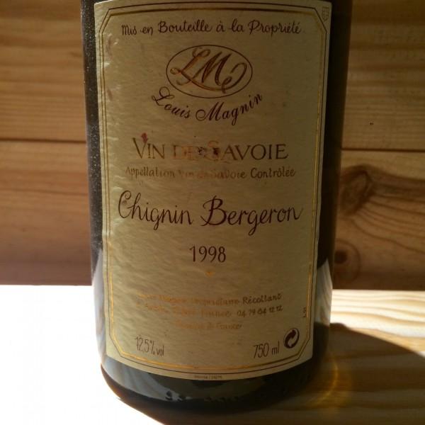 CHIGNIN BERGERON LOUIS MAGNIN 1998
