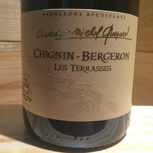 CHIGNIN BERGERON TERRASSES ANDRE MICHEL QUENARD 2014