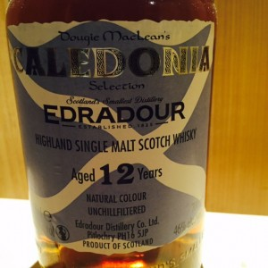 Caledonia Edradour aged 12 y