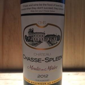 Château Chasse-Spleen Moulis-Médoc 2012