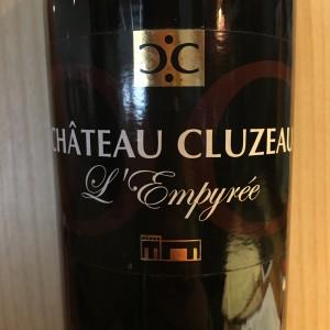 Château Cluzeau L'empyrée Côtes de Bergerac 2012