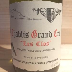 Chablis Grand cru Les Clos Dauvissat 2013