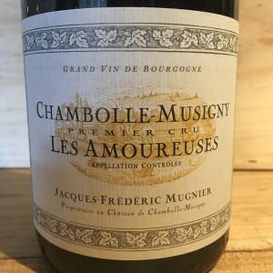 Chambolle Musigny 1er cru Les Amoureuses Jacques Frédéric Mugnier 2012