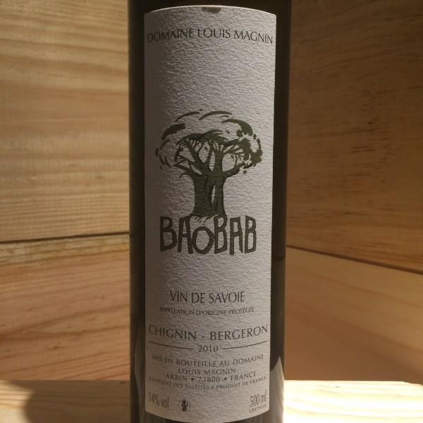 Chignin Bergeron Baobab Louis Magnin 2010
