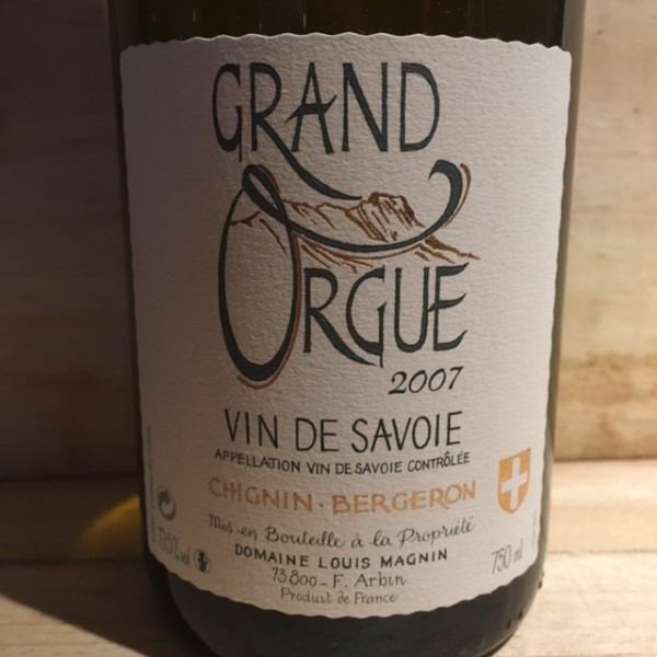 Chignin Bergeron Grand Orgue Louis Magnin 2007