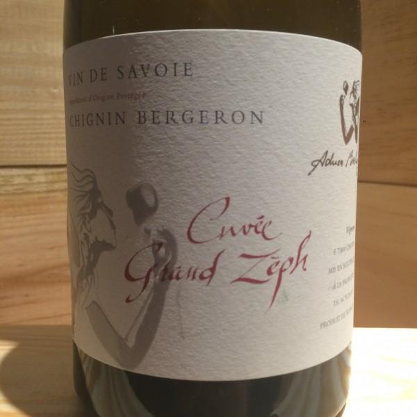 Chignin Bergeron Grand Zeph Adrien Berlioz 2015