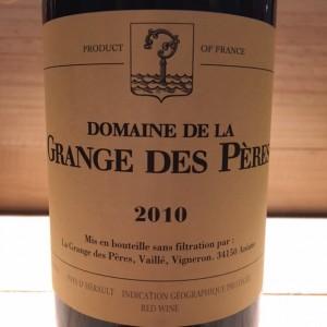 Grange des Pères Vin De Pays de l'Hérault Laurent Vaillé 2010