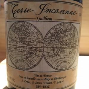 Guilhem  Vin de Table Terre Inconnu
