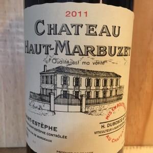 Haut Marbuzet Saint-Estephe 2011