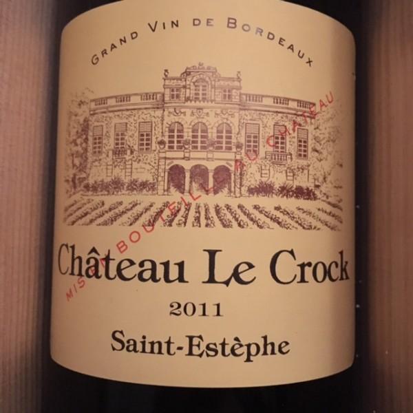 Le Crock Saint-Estephe 2011 Magnum