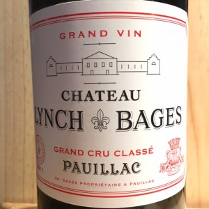 Lynch-Bages Pauillac 2011