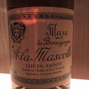 Marc de Bourgogne A la mascotte Louis Jadot