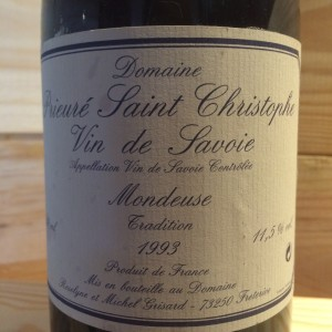 Mondeuse Tradition Michel Grisard 1993
