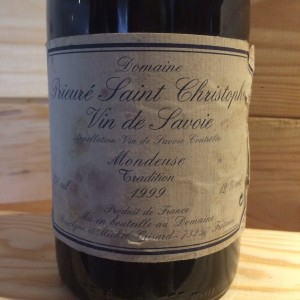 Mondeuse Tradition Michel Grisard 1999