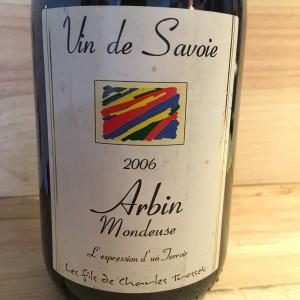Mondeuse d'Arbin Cuvée Confidentiel Trosset 2006
