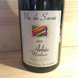 Mondeuse d'Arbin Cuvée Confidentiel Trosset 2009