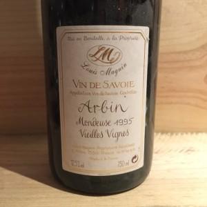 Mondeuse d'Arbin Vieilles Vignes Louis Magnin 1995