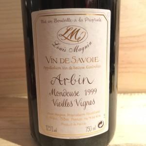 Mondeuse d'Arbin Vieilles Vignes Louis Magnin 1999