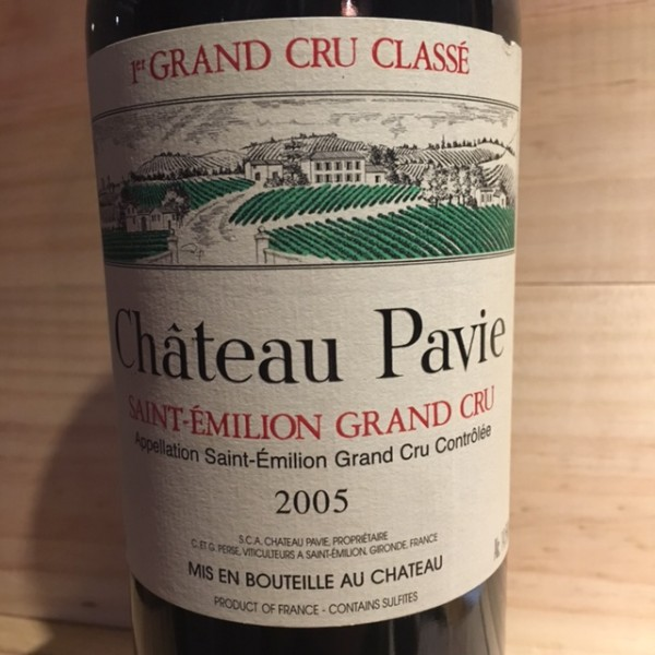 Pavie St Emilion 1er Grand cru classé 2005