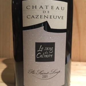 Pic St Loup Sang du Calvaire Cazeneuve  2005