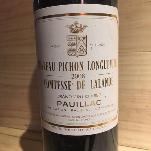 Pichon Longueville Comtesse Lalande Pauillac 2008
