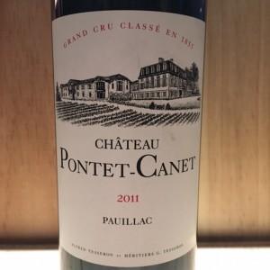 Pontet Canet Pauillac 2011