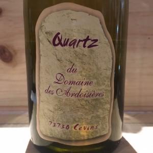Quartz Domaine des Ardoisiéres I.G.P Allobrogie Brice Omont 2002
