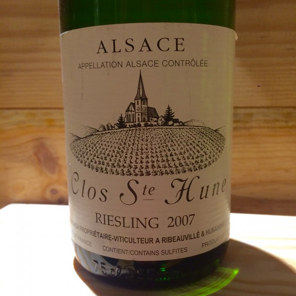 RIESLING CLOS ST HUME 2007
