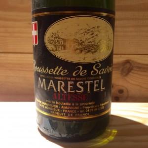 ROUSSETTE DE MARESTEL FLEUR D'ALTESSE DOMAINE DUPASQUIER 2009
