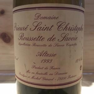 Roussette Michel Grisard 1993