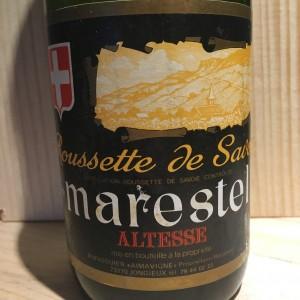 Roussette de Marestel Domaine Dupasquier 1988