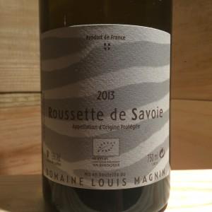 Roussette de savoie Louis Magnin 2013