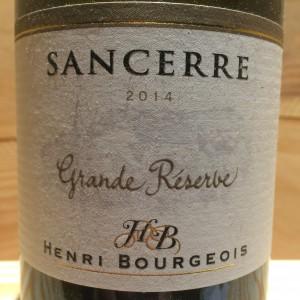 Sancerre blanc Grande Reserve Henri bourgeois 2014