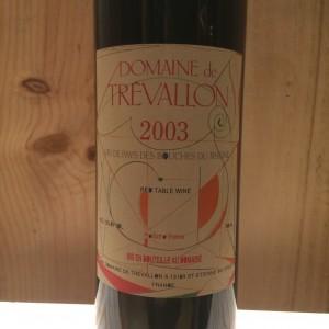VDP des Bouches du Rhône Trevallon 2003