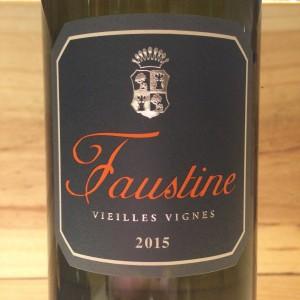 VIN DE FRANCE FAUSTINE ABBATUCCI 2015 BLANC