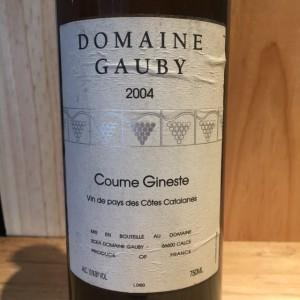 Vin De Pays des Côtes Catalanes  Coume gineste Gauby  2004