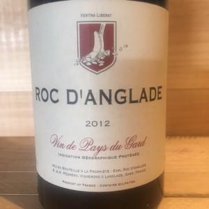 Vin De Pays du Gard Roc d'Anglade 2012