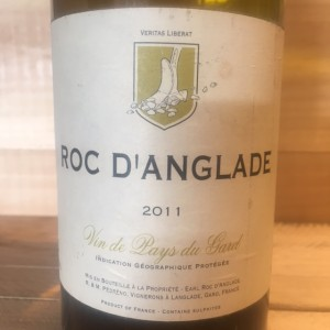 Vin de Pays du Gard Roc d'Anglade 2011