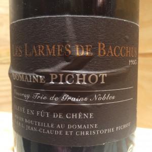 Vouvray moelleux Les Larmes de Bacchus Pichot 1995