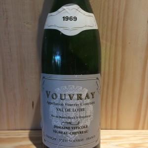 Vouvray moelleux Vigneau Chevreau 1969