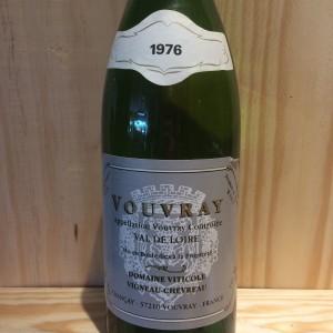 Vouvray moelleux Vigneau Chevreau 1976