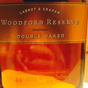Woodford reserve double oaked Labrot & Graham